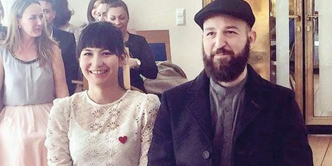 Berlin'de evlendi