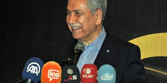 Başbakan Yardımcısı Arınç, vefa istedi