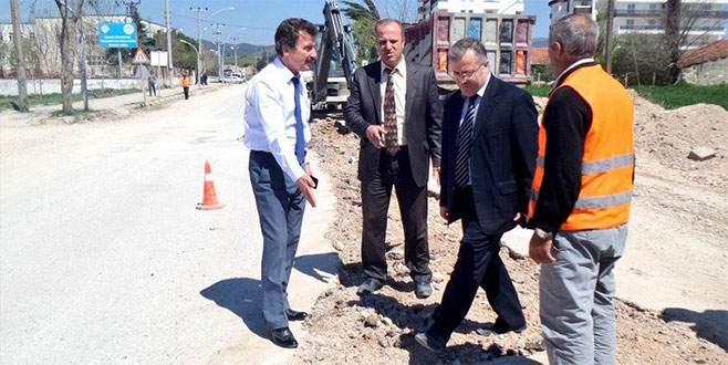 Yenişehir yolları asfaltlanıyor
