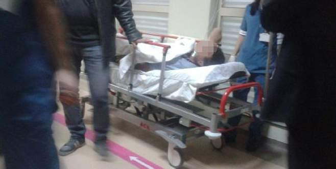 Havalı kompresör tabancası ile şaka hastanede bitti