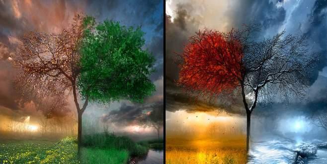 Mevsimler değişiyor