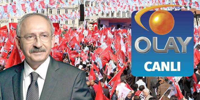 CHP seçim bildirgesini açıklıyor