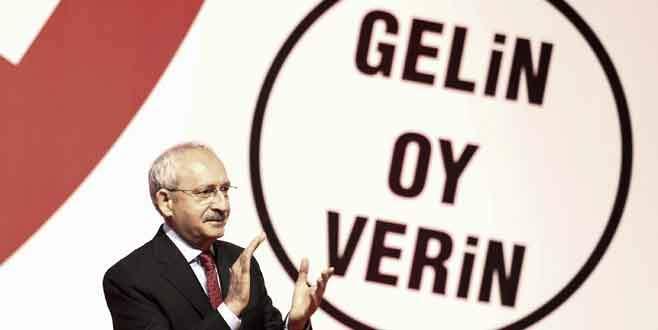 CHP, seçim bildirgesini açıkladı