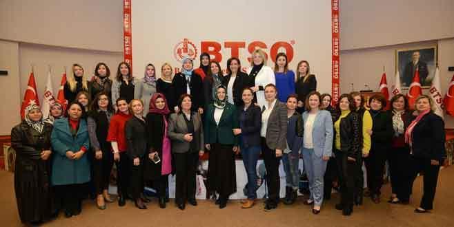 'Kadın girişimciler desteklere kolaylıkla ulaşabilmeli'