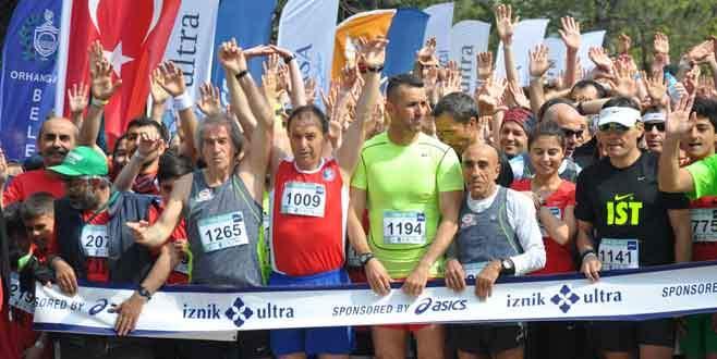 İznik Ultra Maratonu sona erdi