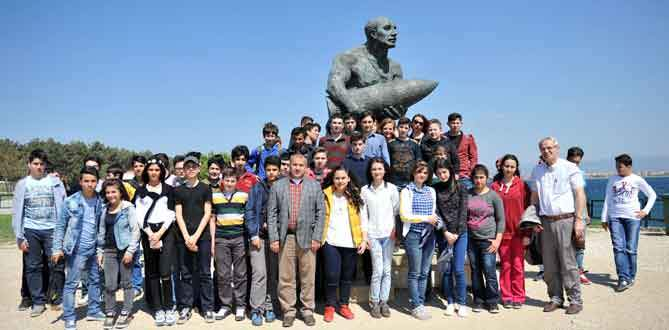 Öğrencileri gururlandıran gezi