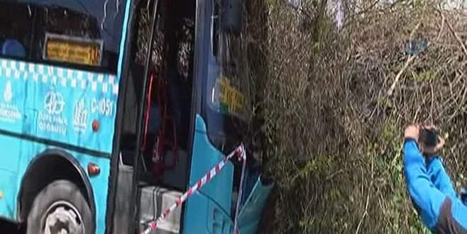 Özel halk otobüsü abla kardeşi ezdi