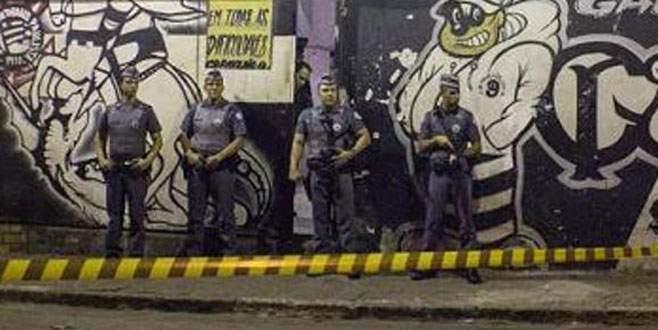 Brezilya'da 9 taraftarın başına kurşun sıktılar