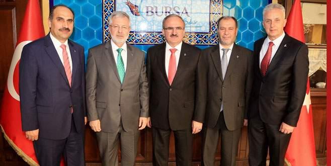 Uludağ Üniversitesi Rektörü'nden Vali Karaloğlu'na ziyaret