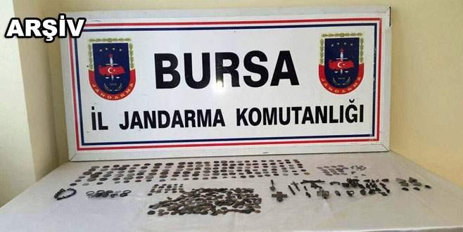 Bursa'da tarihi eser operasyonu