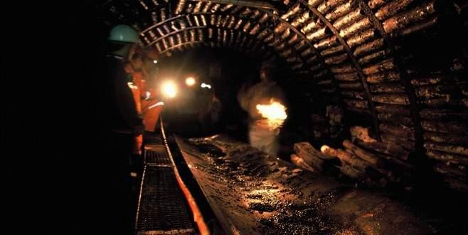 Kömür madeninde faica!