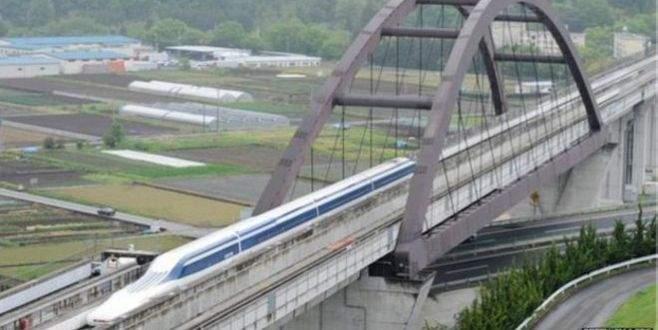 'Uçan tren'den yeni rekor