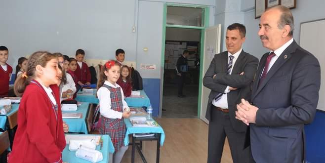 Tirilye İlkokulu'na belediye desteği