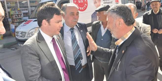 Erkan Aydın'a Keles desteği