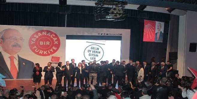 Bursa'da CHP milletvekili adayları tanıtıldı
