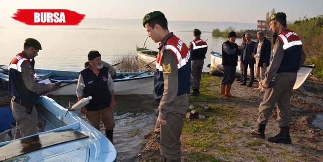 Jandarmadan balıkçılara şafak baskını
