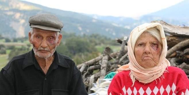 Yaşlı çifte bunu yapanlar insan olamaz