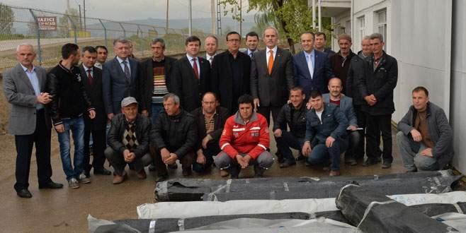 Büyükşehir'den çiftçiye destek!