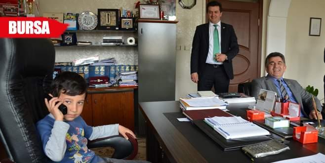 Küçük Başkan, Altepe'den spor tesisi istedi