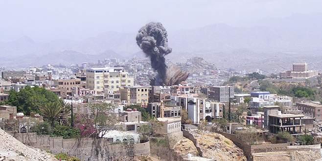 Hedefler yeniden bombalandı