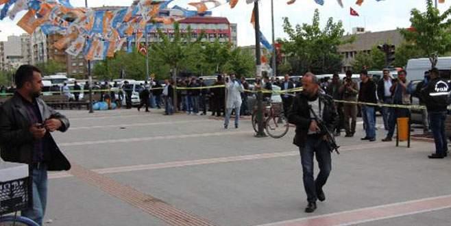 AK Parti seçim bürosuna silahlı saldırı!