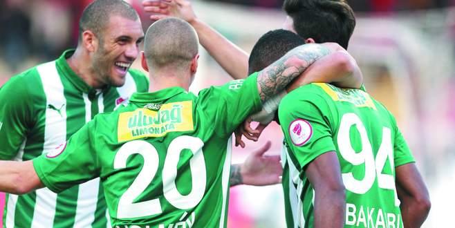 Bursaspor'da hedef galibiyet