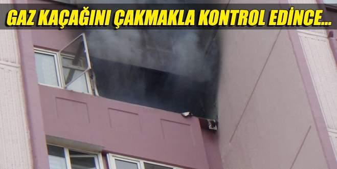 Türk işi kontrolle evi havaya uçurdu!