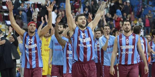 Trabzon kupa için sahada