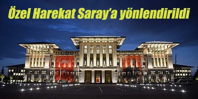 Cumhurbaşkanlığı Sarayı çevresinde alarm!