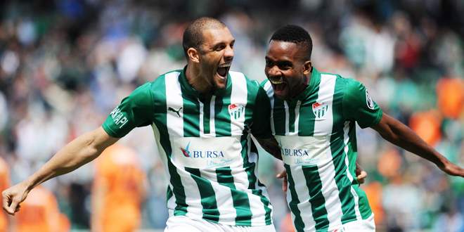 Bursaspor'un yabancıları gole doymuyor