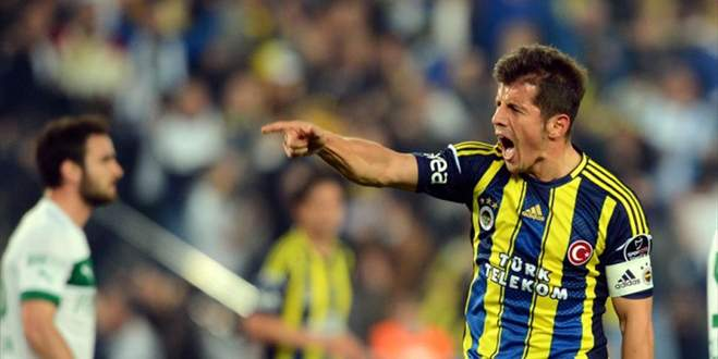 Emre Belözoğlu Bursa'ya gelmiyor