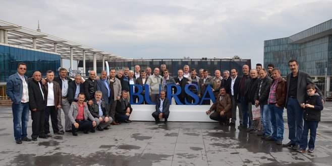 27 yıl sonra Bursa'da buluştular