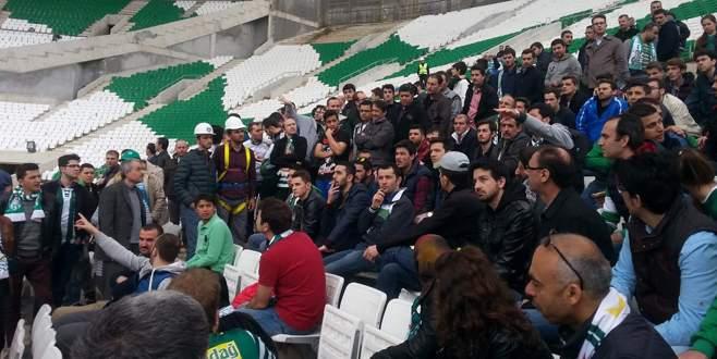 Taraftarlar, Timsah Arena'ya hayran kaldı