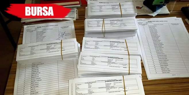 Seçmen kağıtları dağıtılmaya başlandı