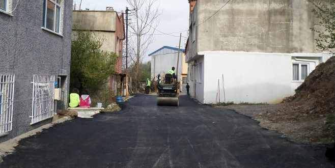 Yıldırım'da asfaltlama çalışmaları hız kazandı
