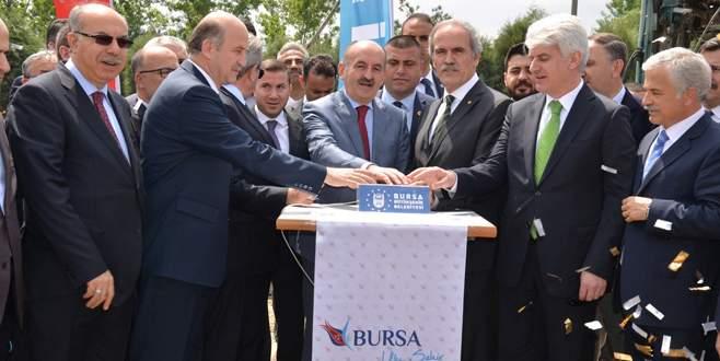 Dev çevre yatırımının temelini Bakan Müezzinoğlu attı