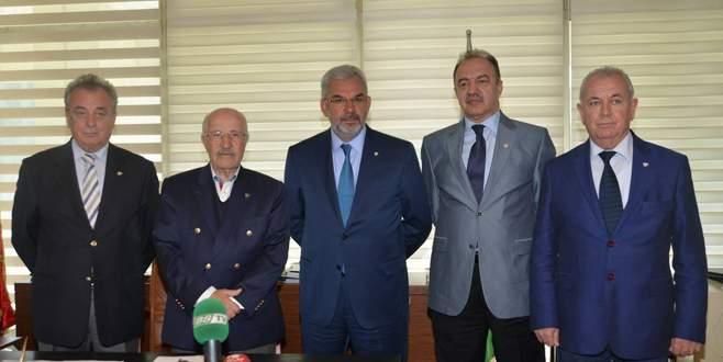 Bursaspor Başkanlığı'na 5 isim talip oldu