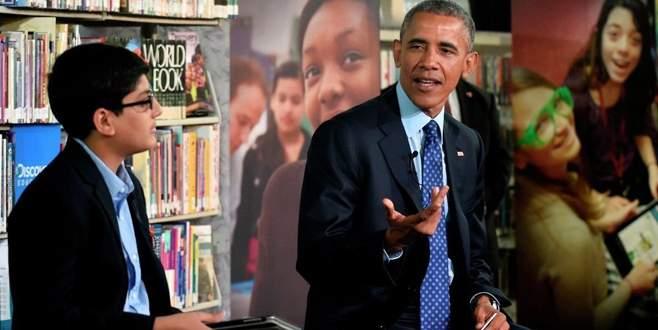 Lafı Obama'nın ağzına tıkadı