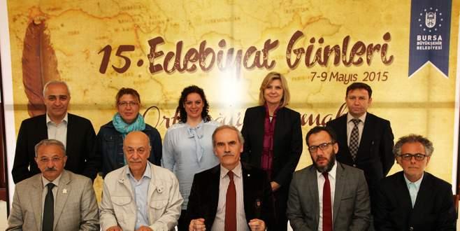 Edebiyat Günleri'nde tema 'Ortadoğu'yu Yazmak'