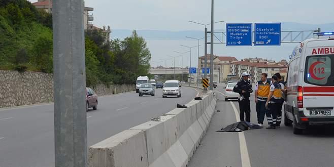 Mudanya yolunda kaza