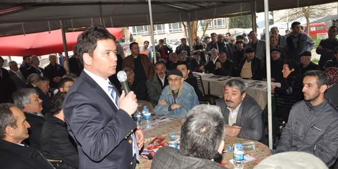 Erkan Aydın partisinin projelerini anlatıyor