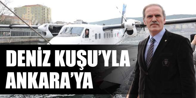 Deniz Kuşu'yla Ankara'ya