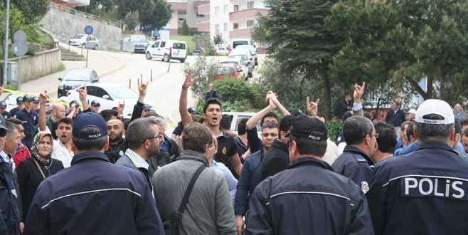 Bursa'da HDP açılışında olaylar çıktı