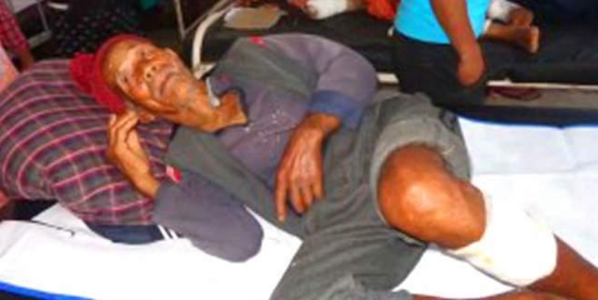 Nepal'de 101 yaşındaki depremzede kurtarıldı