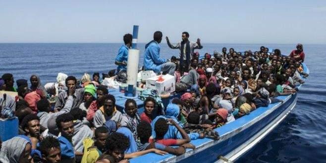 6 bin göçmen kurtarıldı