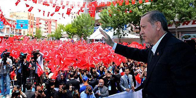 Erdoğan: Bizim Kabe'miz bellidir