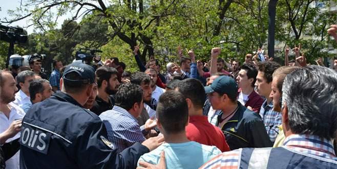 Balıkesir'de HDP mitinginde olaylar çıktı