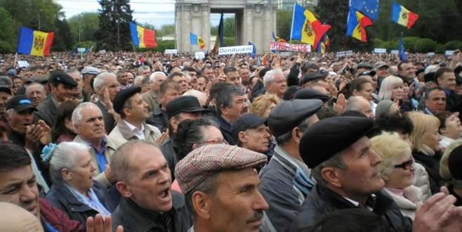 Yolsuzluk protestosu