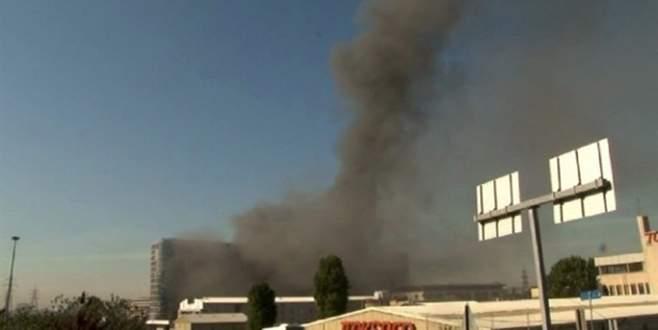 Korkutan yangın! Dumanlar gökyüzünü sardı