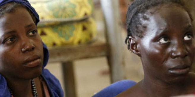 Boko Haram'dan kurtarılan kızlar hamile